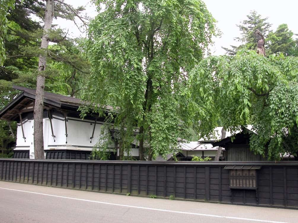 Aoyagi Samurai Manor Museum contains a thatched-roof samurai mansion and other buildings serving as museums