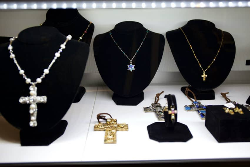 Religious gifts at the Museum of the Bible in Washington DC.