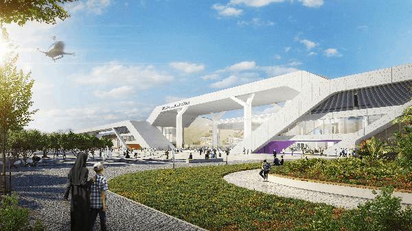 Dubai Exhibition Center at World Expo.