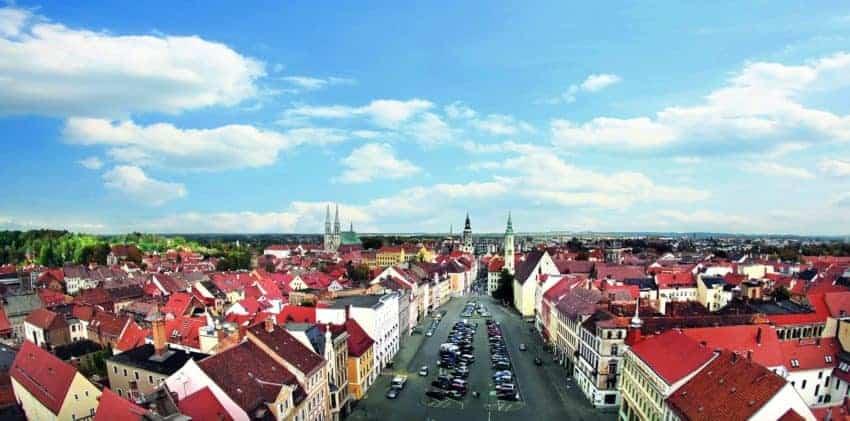 Scenic view of Görlitz, Germany. Alexander Roemisch photo.