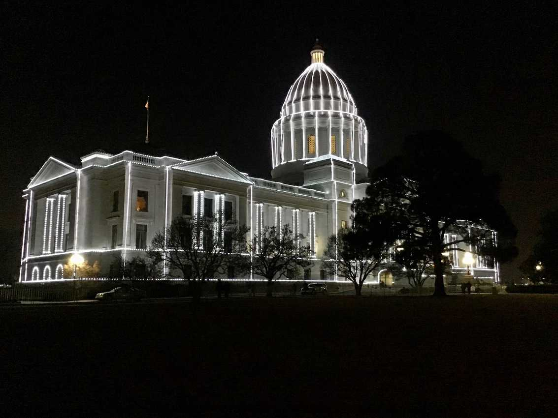 Anyone can walk in and visit the beautiful Arkansas State Capitol Building in Little Rock.
