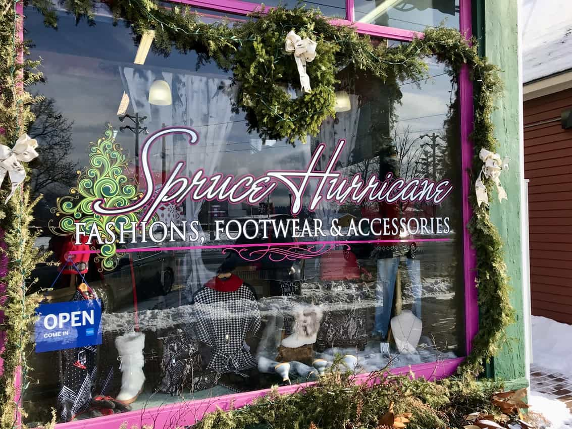 Classy shop in Mt Washington Valley.