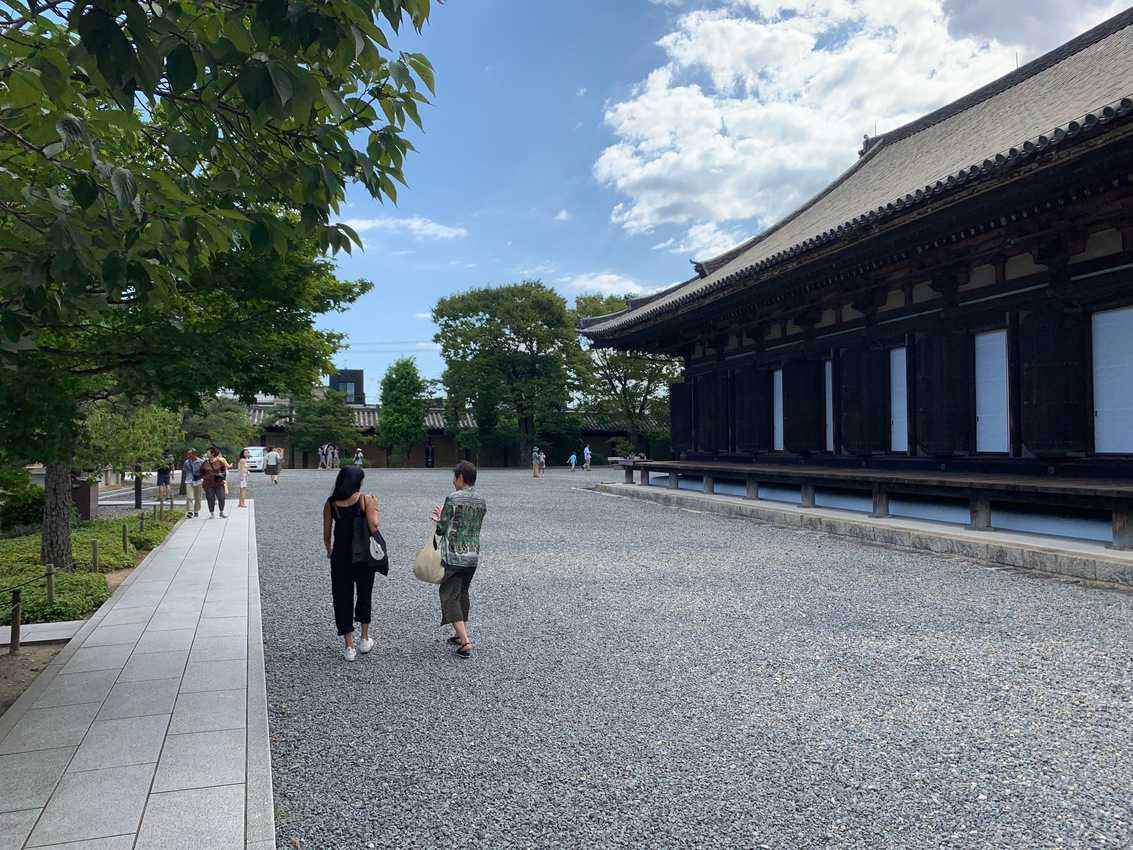 Walking around Kyoto, Japan. Photo by Adi Narendranath.