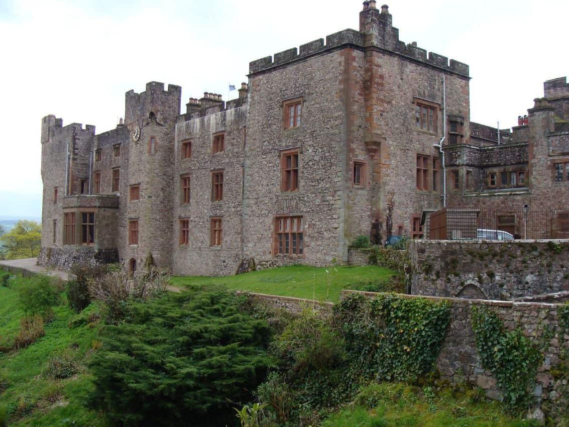Muncaster Castle near Ravenglass. Bert 23 Baum's photo.