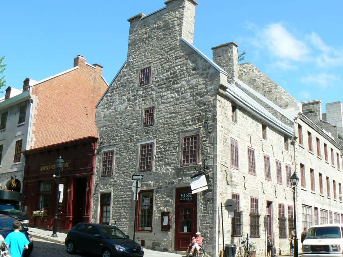History museum in Old Montreal. Max Hartshorne photos.