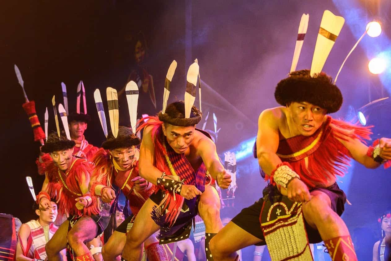 The opening ceremony of the Hornbill Festival features a variety of acts, including dancing, drumming and singing.