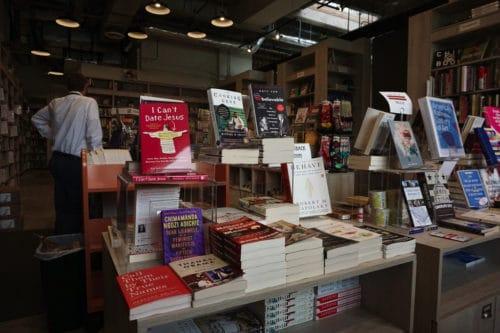 Politics and prose at Washington's Union Market.
