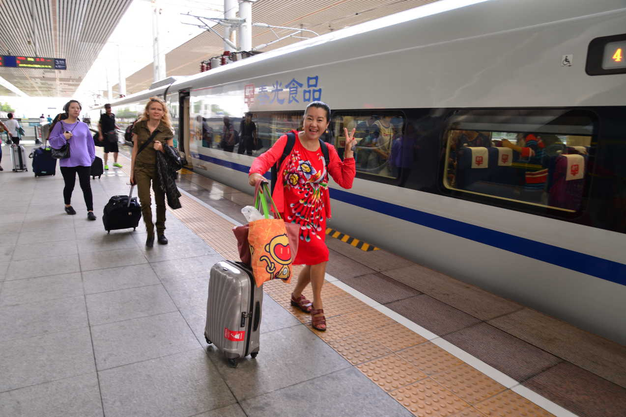 High Speed Train takes riders from Sanya to Haikou in 90 minutes or less at 175 mph.