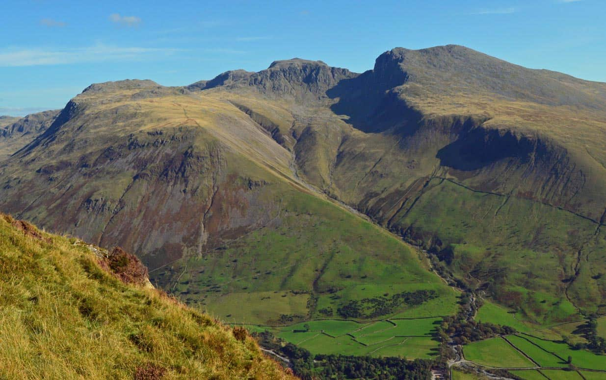 Scafell Pike is the tallest mountain in all of England. Doug Sim's photo.