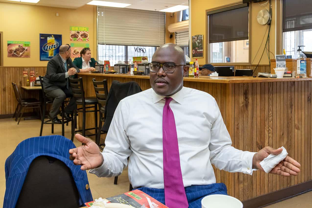 Little Rock Mayor Frank Scott. Paul Shoul photo.