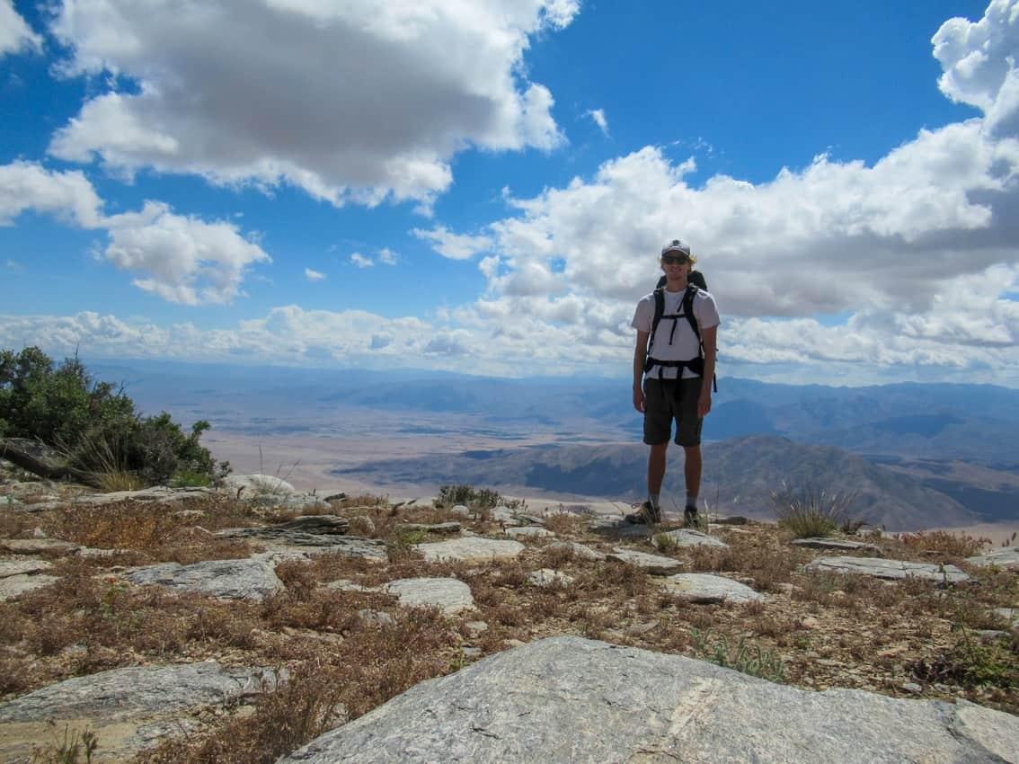 Villager Peak summit.