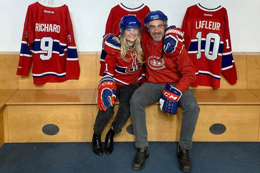 Montreal: Watching the Habs with My Girl