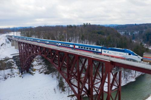 new Amtrak Acela trainset