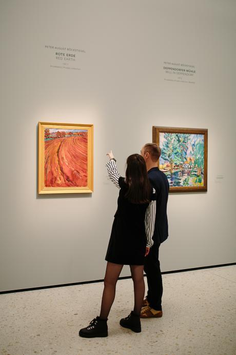 Van Gogh exhibition Frankfurt, Germany