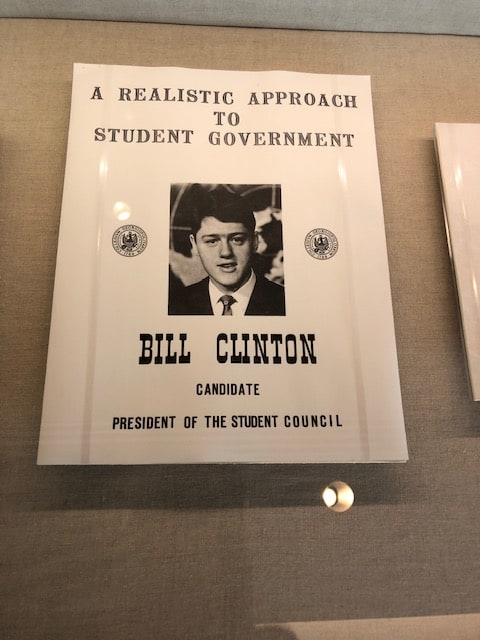 Elect Bill Clinton head of the Student Council!