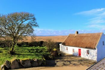 This 200-year-old thatched cottage looks just like it did in past centuries. Photo courtesy of Cnoc Suain.
