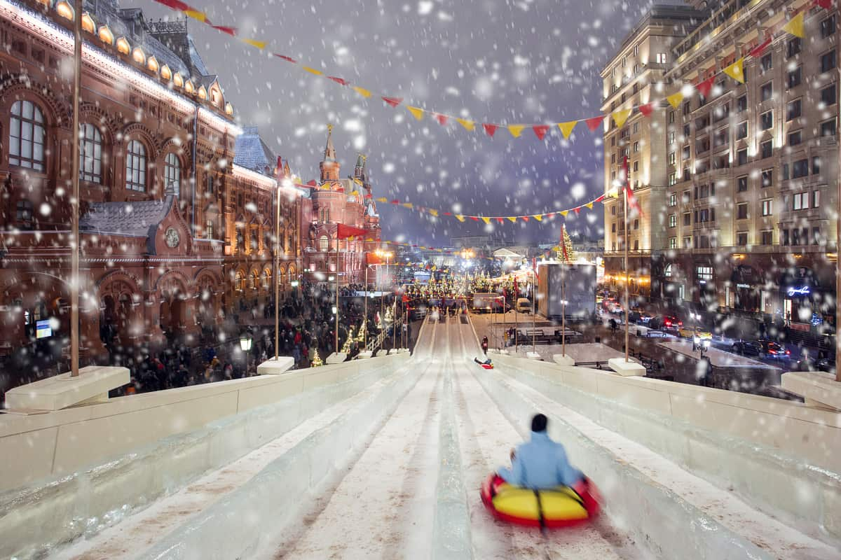 Russia celebrates Christmas on January 7.