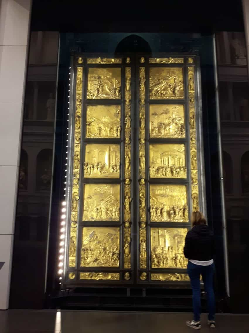 Have some one on one time with Ghiberti's original Gates of Paradise in the Opera Duomo Museum