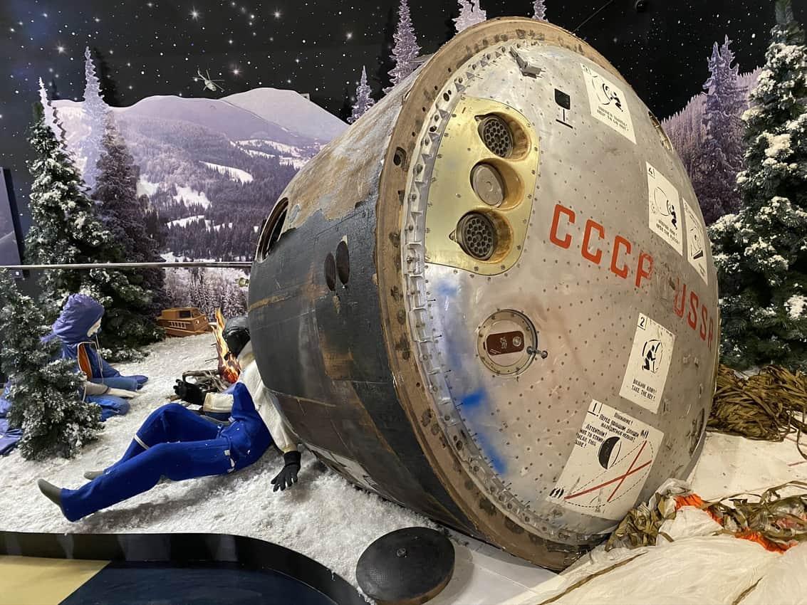 Memorial Museum of Cosmonautics in Moscow. Dan Foster photo.