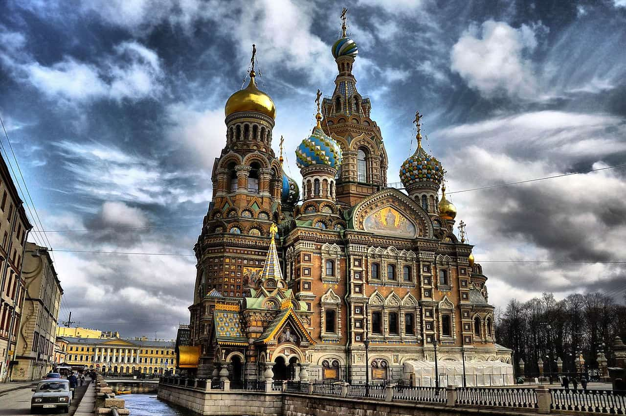 The Church of the Savior on Spilled Blood, Saint Petersburg. Mike Lloyd.