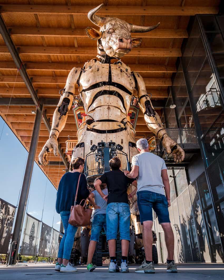 La Halle de la Machine outside of Toulouse. – Credit : HapTag/Toulouse Tourism