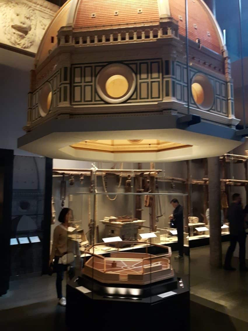 Discover how the dome was built in the Opera Duomo Museum