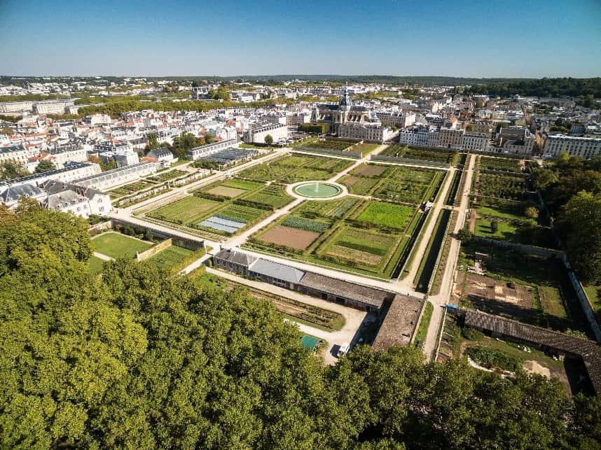 The King's Garden in Versailles, France.