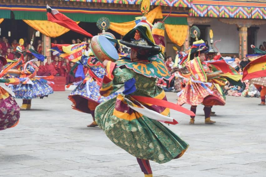 Bhutan's Colorful Punakha Tshechu