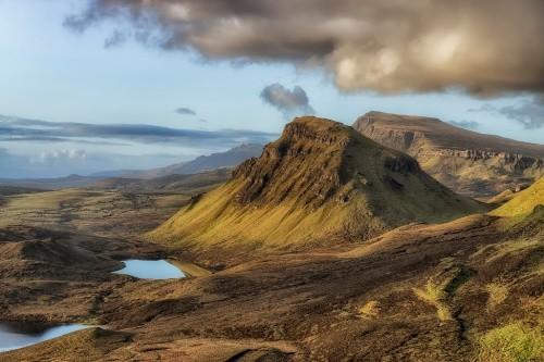 Skye Island in Scotland.