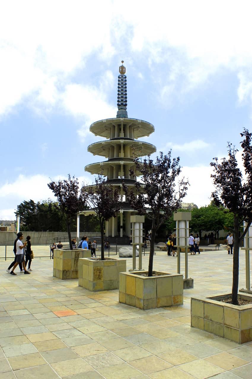 Peace Pagoda in Japantown, San Francisco