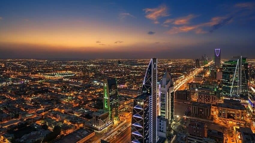 Riyadh, Saudi Arabia. Wikipedia commons image.