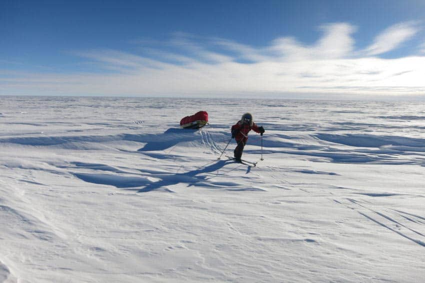 The Expedition: An Arduous South Pole Quest