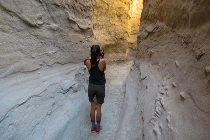 Slot Canyon in northern Anza Borrego.