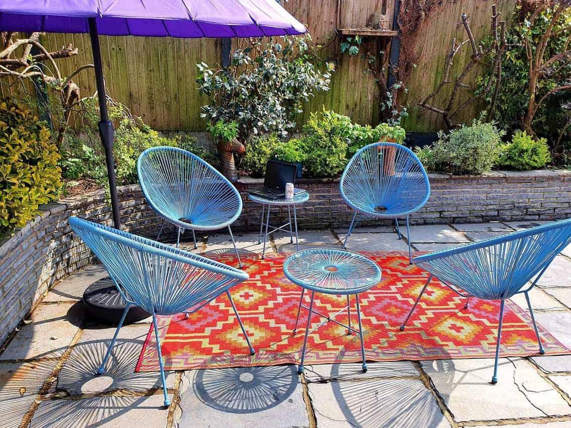 Cindy-Lou Dale's garden in Lidd, southeast England.