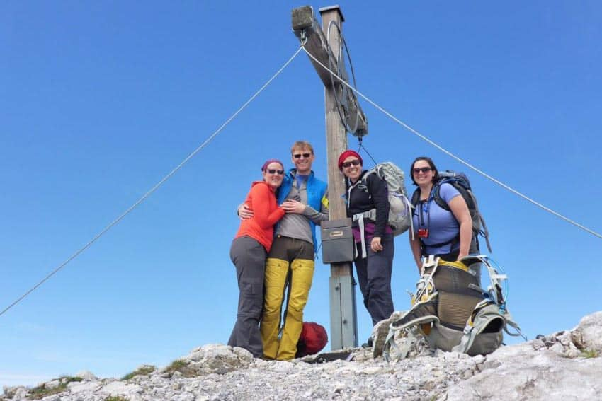 Liechtenstein: A Snowy Mountain Hike