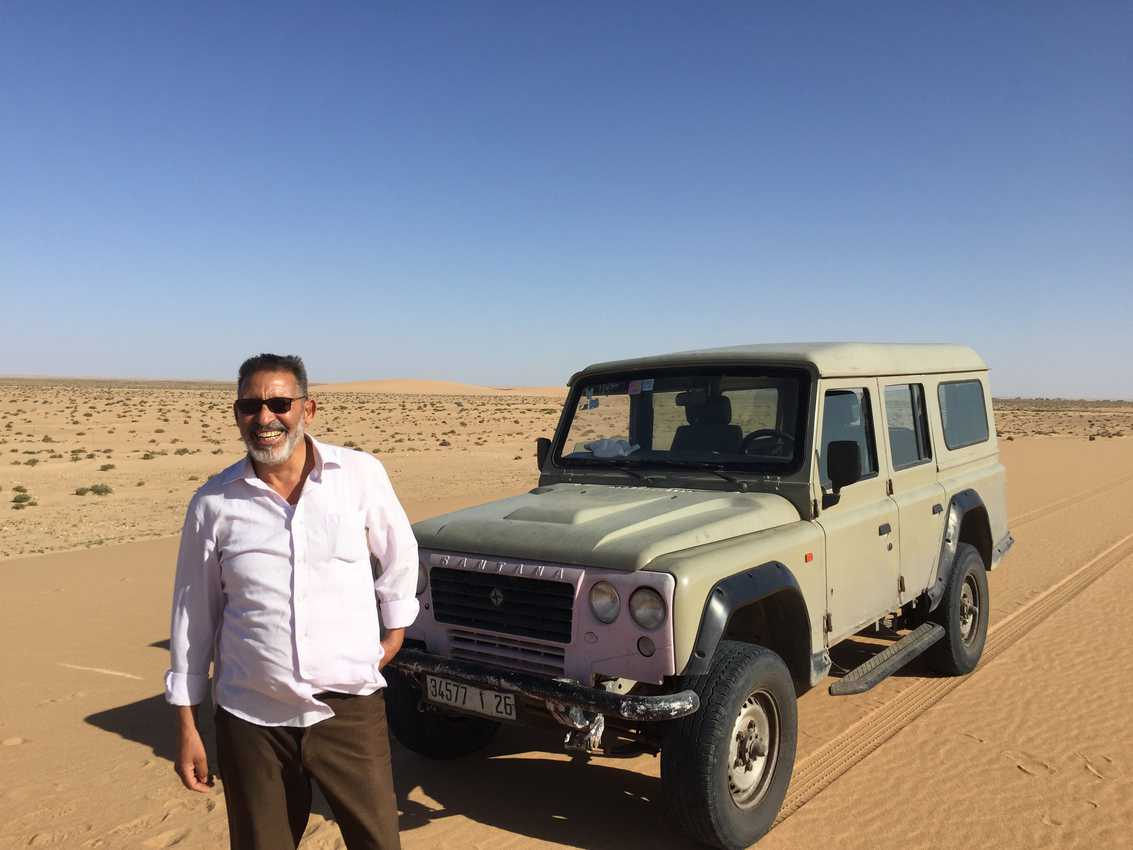"Ahmad: my Saharawi Guide to ""his desert"""