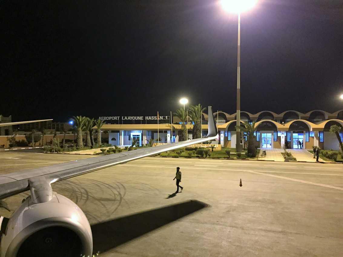 Laayoune Airport, Western Sahara.