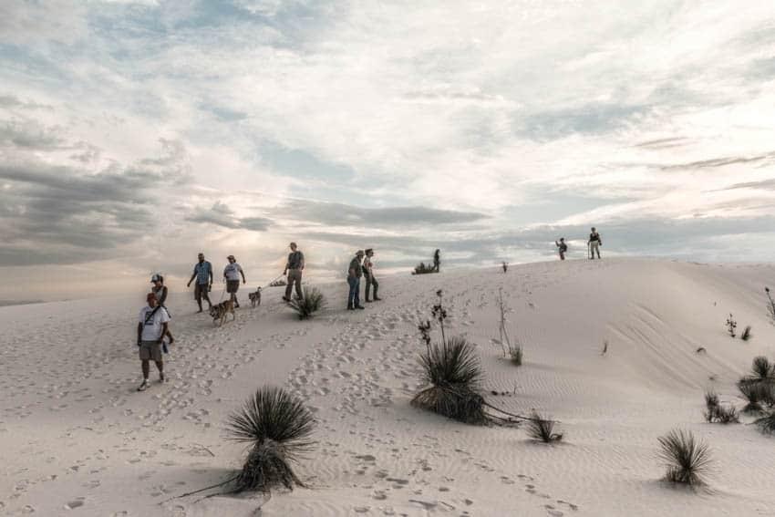 White Sands National Park: A Radiating Desert