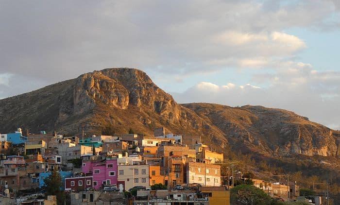 Tim Leffel's view in Guanajuato, Mexico.