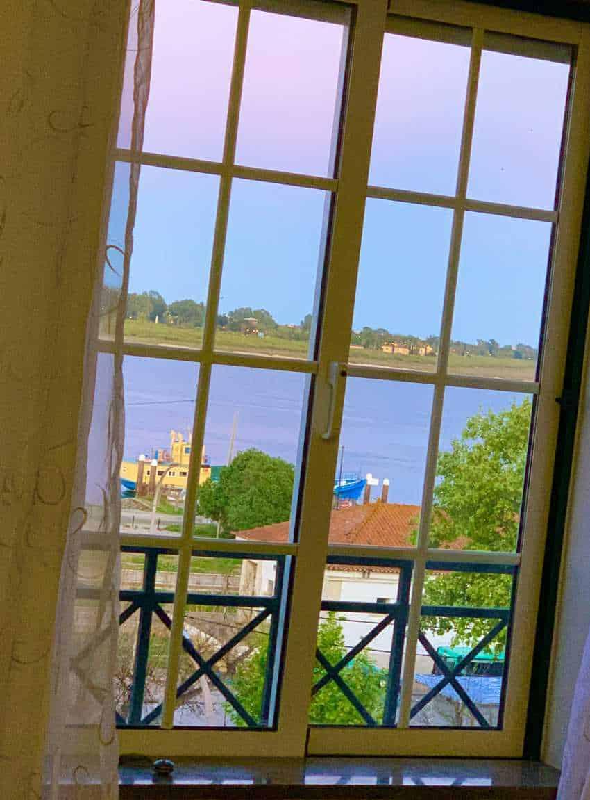 Veronica's view of Vila Real de Santo Antonio, Portugal, her adopted home.