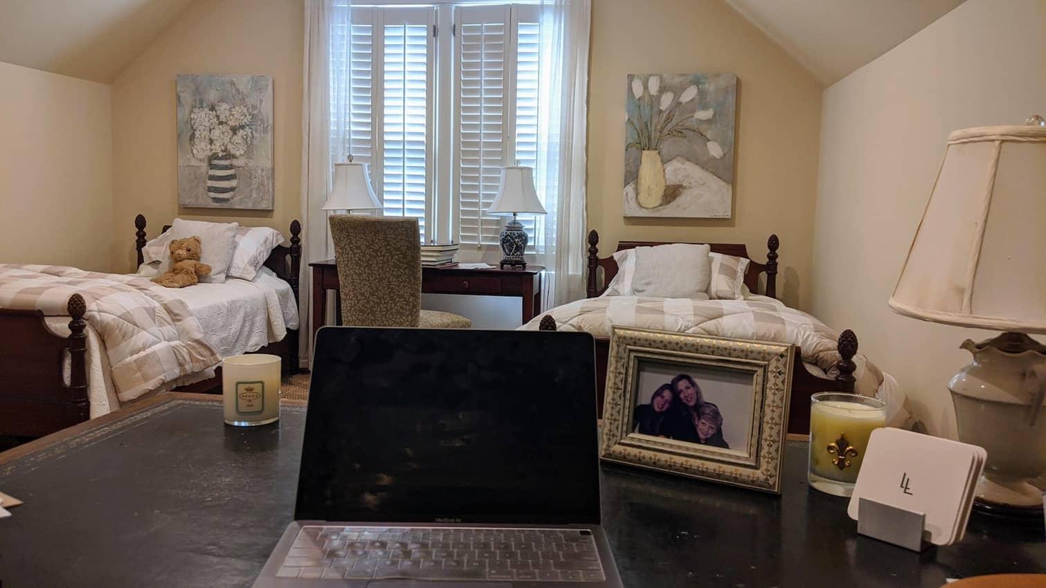 Jan Schroder's office in Atlanta Georgia.
