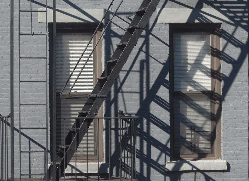 Paul Clemence's view in Carroll Gardens, Brooklyn.