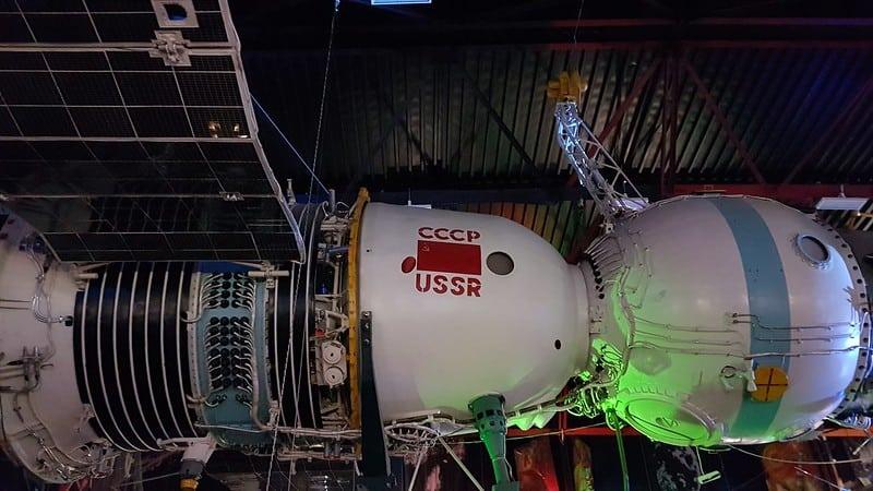 The Sergei Korolyov Museum of Astronautics in Zhytomyr, Ukraine.
