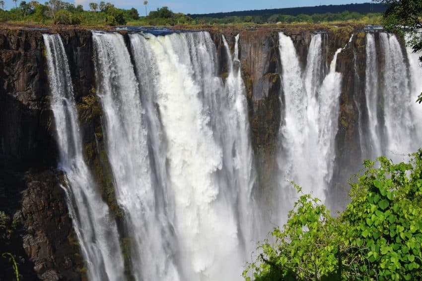 Victoria Falls is one of the seven wonders of the world