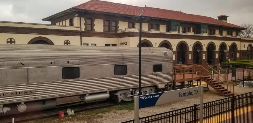 Amtrak station in Temple AZ
