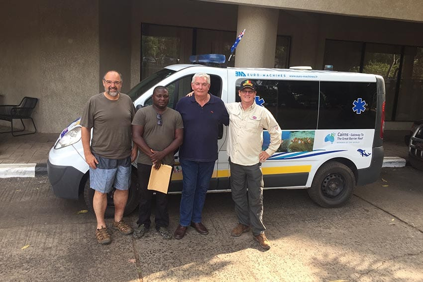 Ambulance to Africa: A Noble Deed, Indeed 14