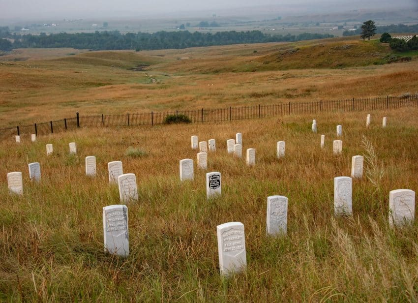 The Little Bighorn Battlefield National Monument is a 10 minute drive from Crow Fair. I'ts worth exploring to understand how this historical battle shaped the West.