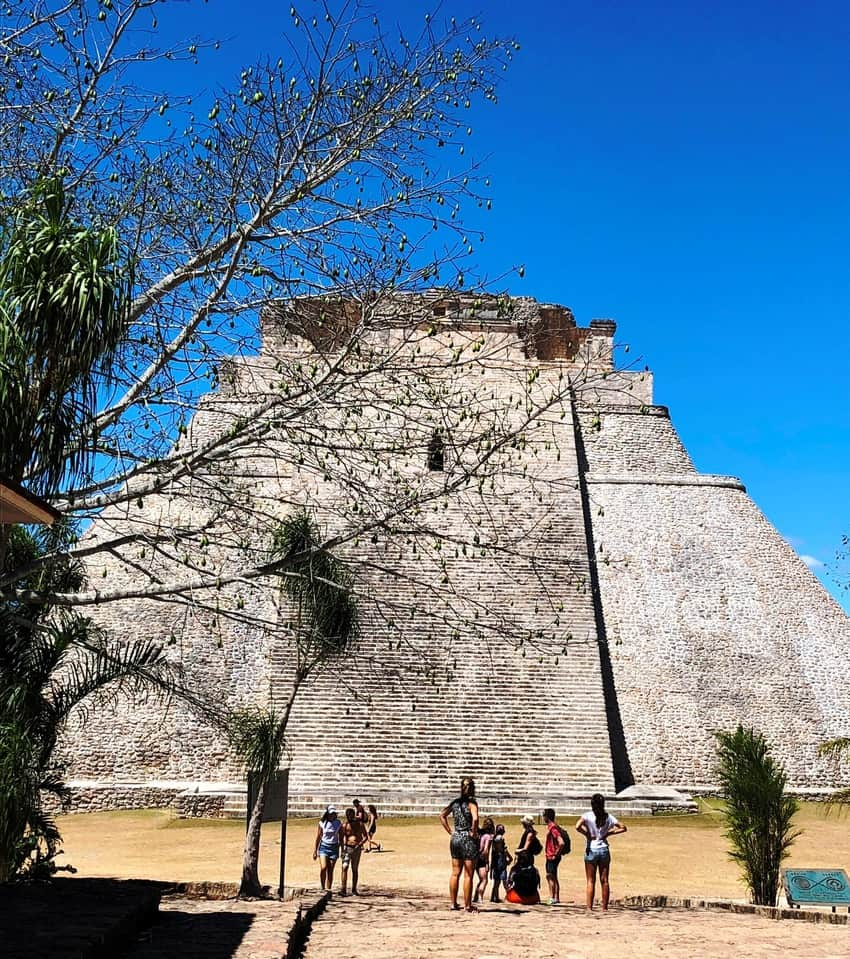 Pyramid of the Magician Uxmal