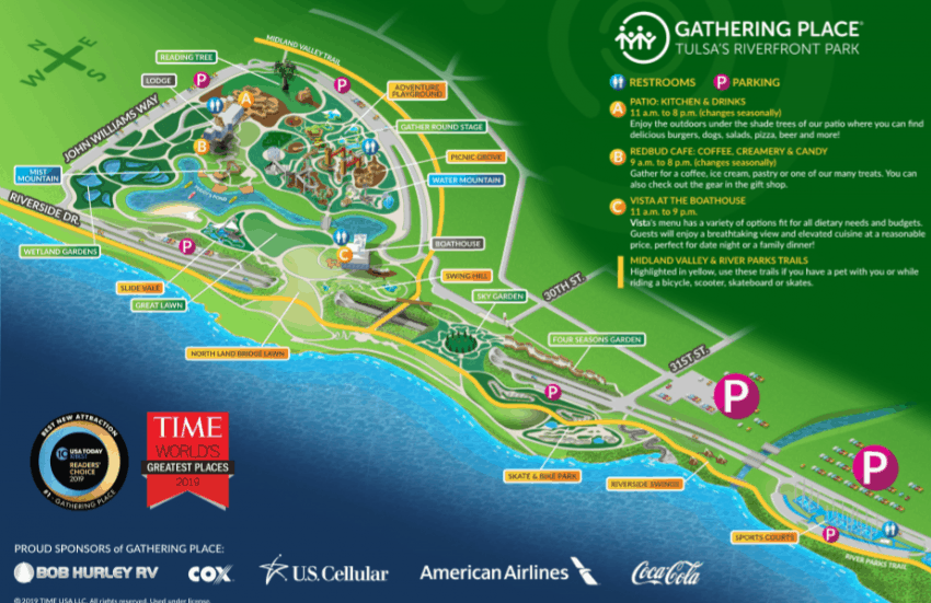 A map of Gathering Place