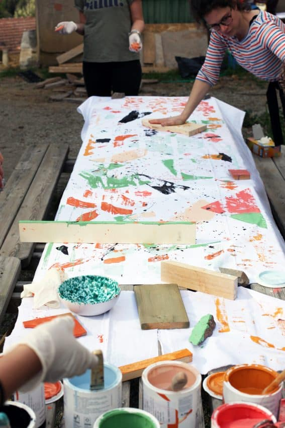 Villa Lena offers a wide variety of fun art classes that are free for guests. Lottie Thompson photo.